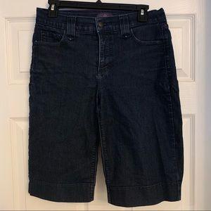 NYDJ Bermuda Denim Shorts, 6